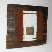 Quadrat auf Holz, CHF 620.00